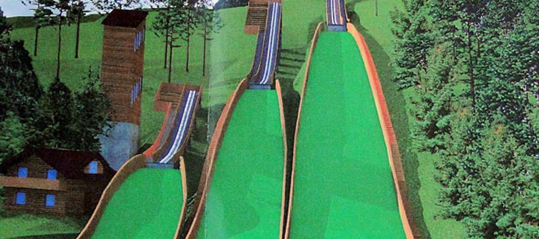 Trzy nowe skocznie narciarskie