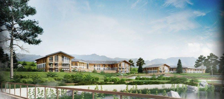 LAKE HILL Resort & Spa (wizualizacja: materiały inwestora)