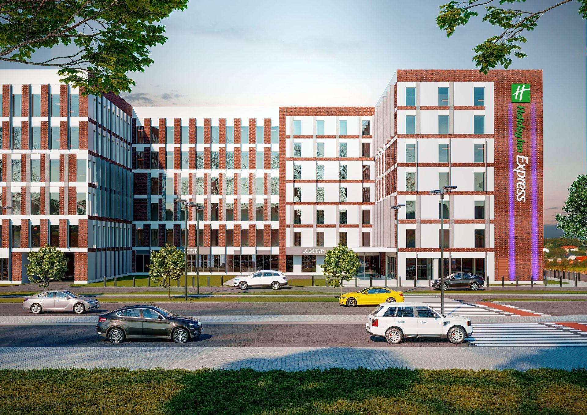 Holiday Inn Express Wrocław – Krakowskie Tarasy wzbogacają się o trzygwiazdkowy hotel