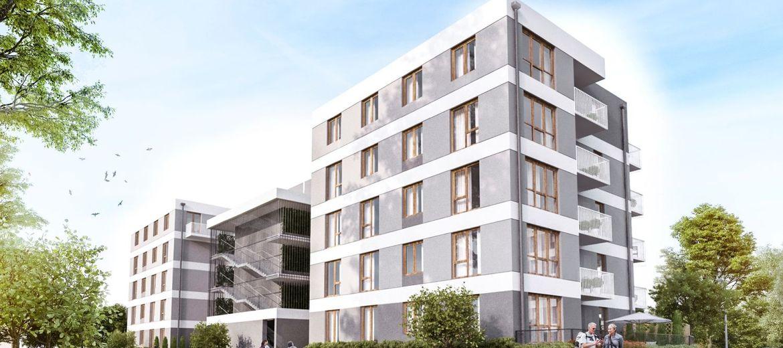 Nowy budynek na Osiedlu