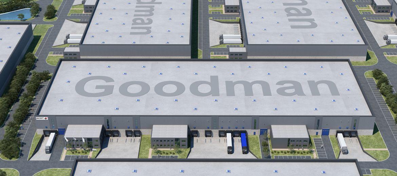 Centrum logistyczne od Goodmana