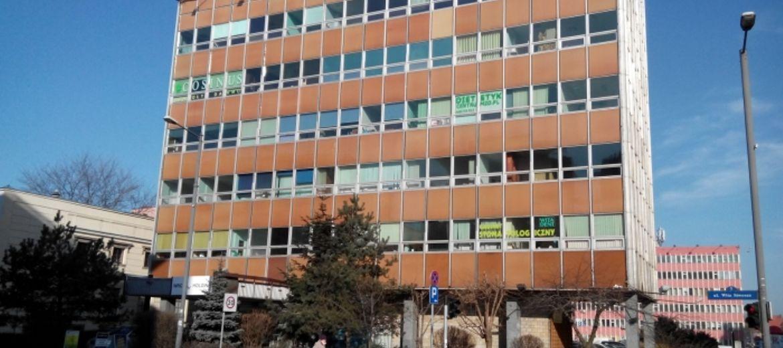 PRL-owskie biurowce w centrum
