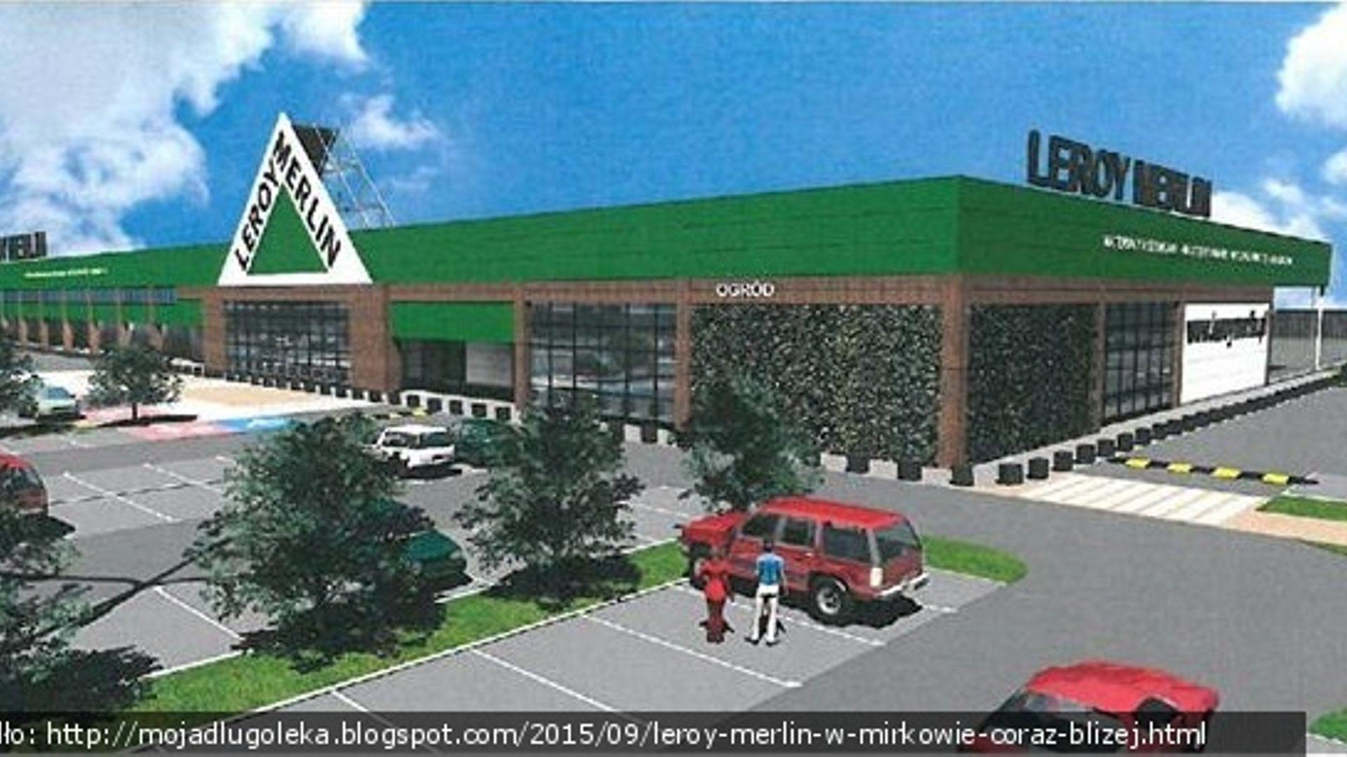 W Mirkowie Powstaje Gigamarket Leroy Merlin Mirkow Investmap Pl