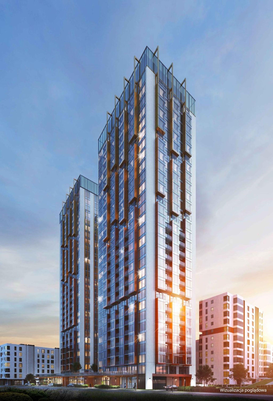 W Warszawie trwa budowa dwóch 95-metrowych wież Towarowa Towers [FILM + WIZUALIZACJE]