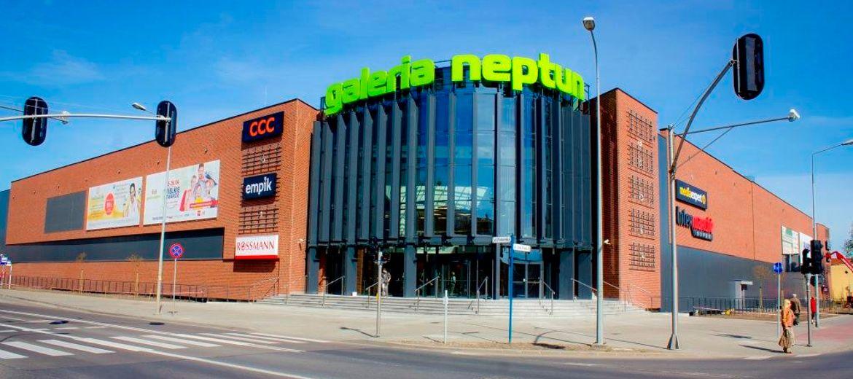 Galeria Neptun z nowymi