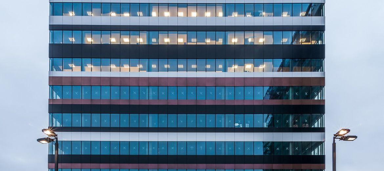 Pierwszy budynek biurowy Skanska