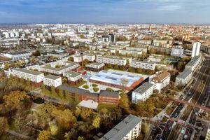 Wrocław: PFR przygotowuje Mieszkania Plus na terenie poczty [WIZUALIZACJE]
