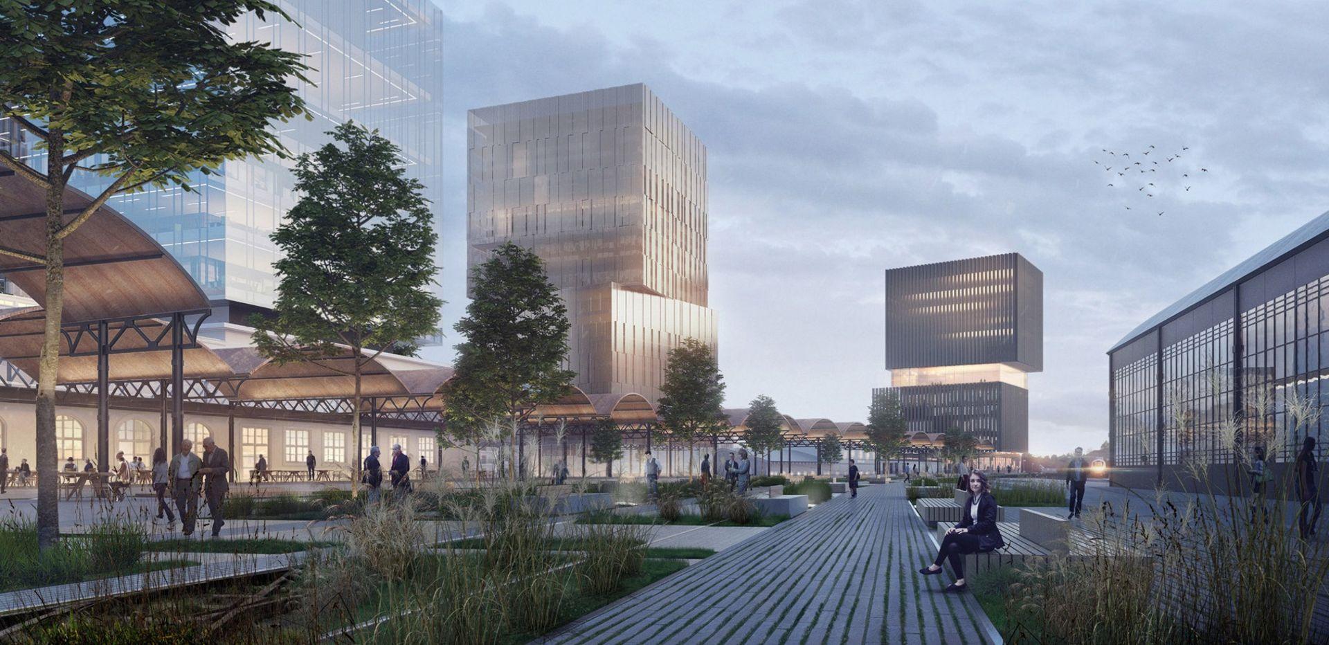 Wrocław: Więcej wież i przestrzeń otwarta dla mieszkańców. Tak może się zmienić teren przy Dworcu Głównym