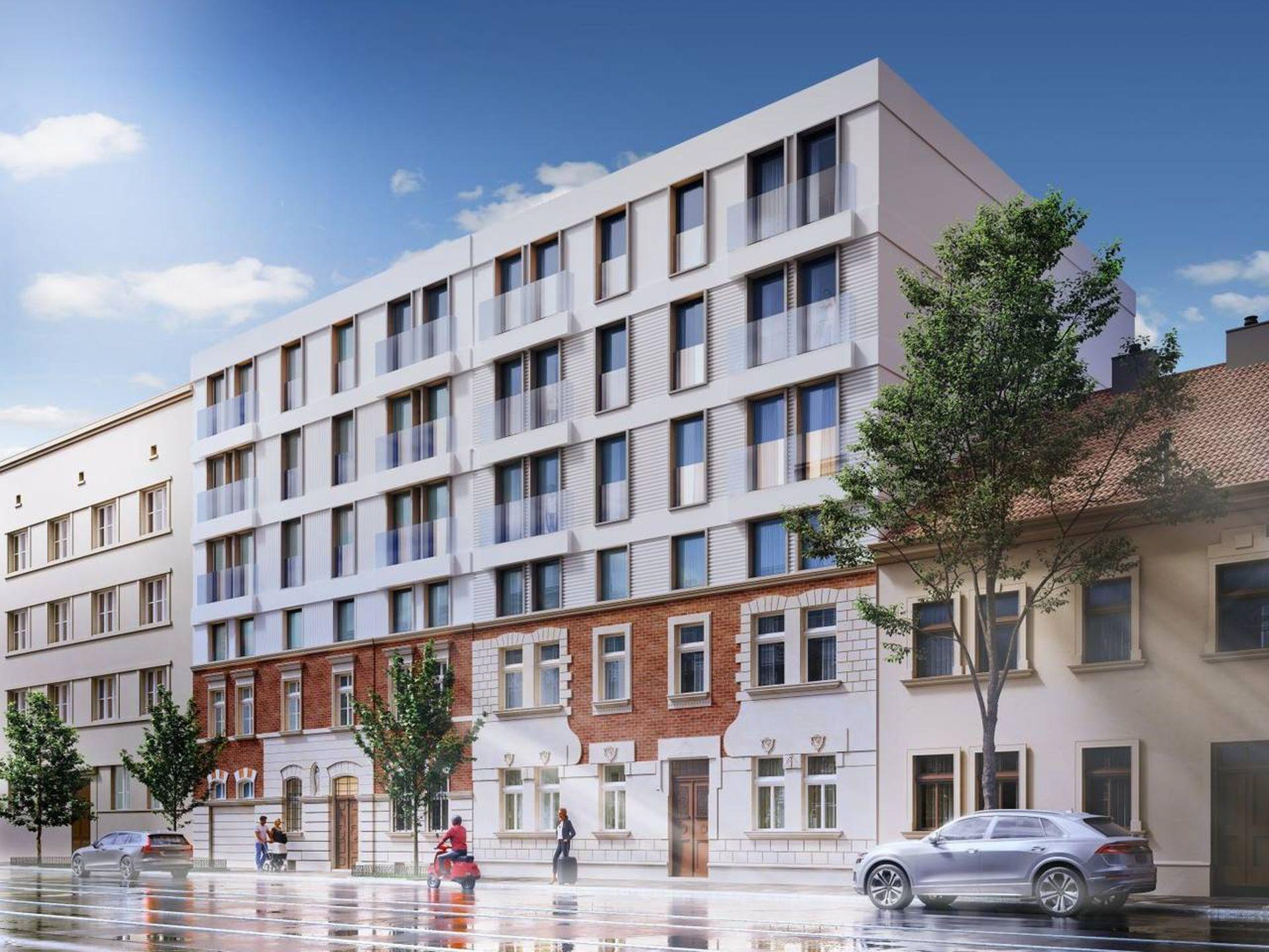 Na krakowskim Salwatorze trwa budowa Duo Residence [ZDJĘCIA + WIZUALIZACJE]