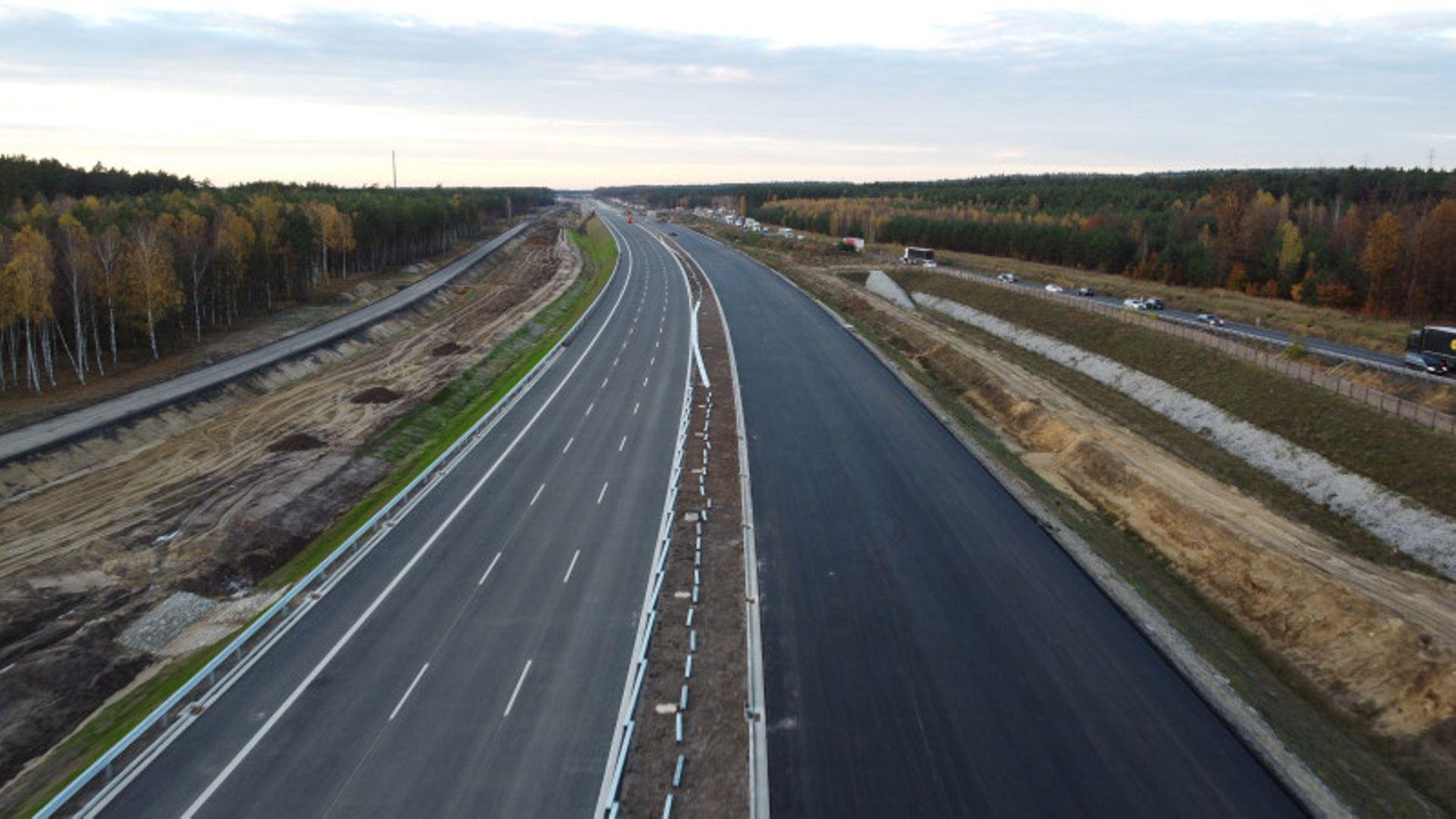 Aktualny stan budowy odcinka trasy S3 Lubin Północ - Kaźmierzów