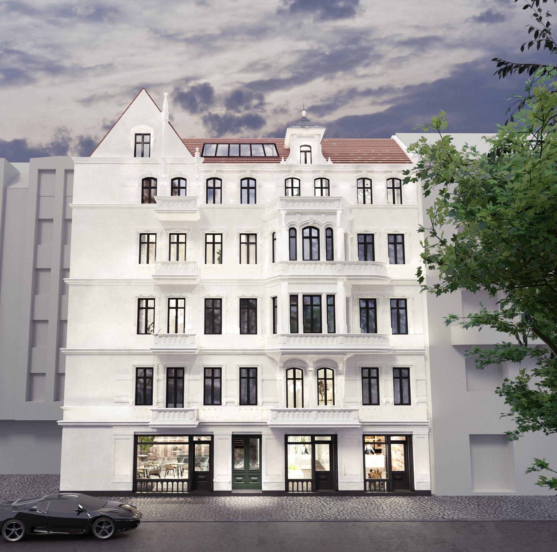 Wrocław: Krasińskiego 25 – Dom Bez Granic. W zabytkowej kamienicy na Przedmieściu Oławskim powstają apartamenty [WIZUALIZACJA]