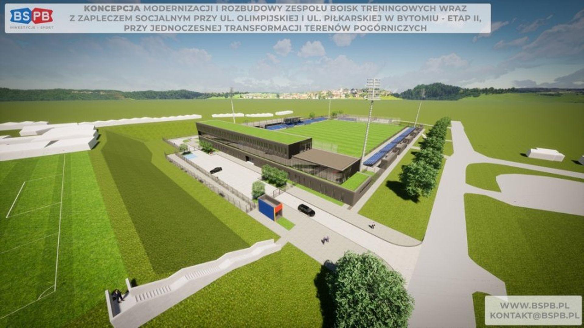 Bytom: nowe boisko piłkarskie powstanie przy starym stadionie Polonii
