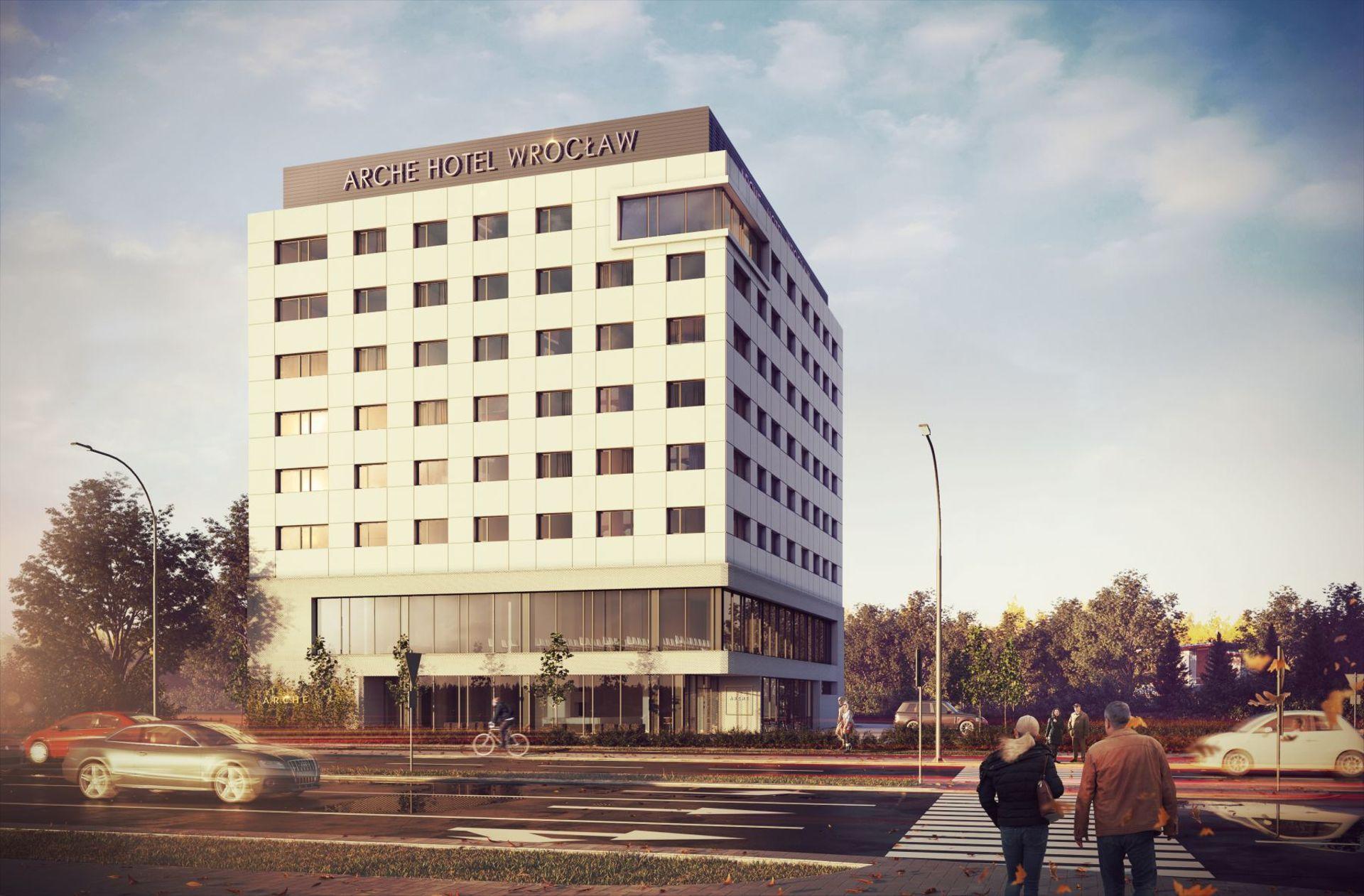 Przy lotnisku we Wrocławiu powstał nowy hotel. Wkrótce otwarcie [WIZUALIZACJE + ZDJĘCIA]