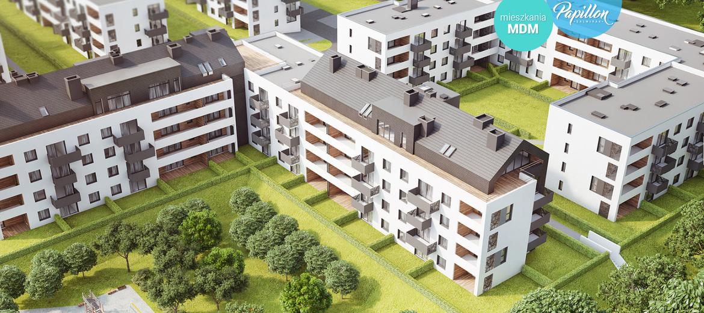 Wizualizacja osiedla Papilon na wrocławskich Stabłowicach (wizualizacja: materiały inwestora)