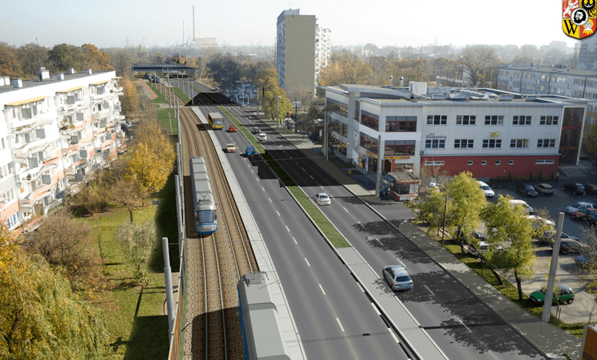 Wrocław: Tramwaj przez Popowice podzielony na etapy. Miasto szuka wykonawcy