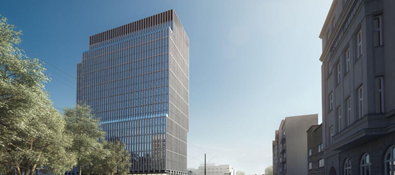 Wieża biurowa Hi Piotrkowska