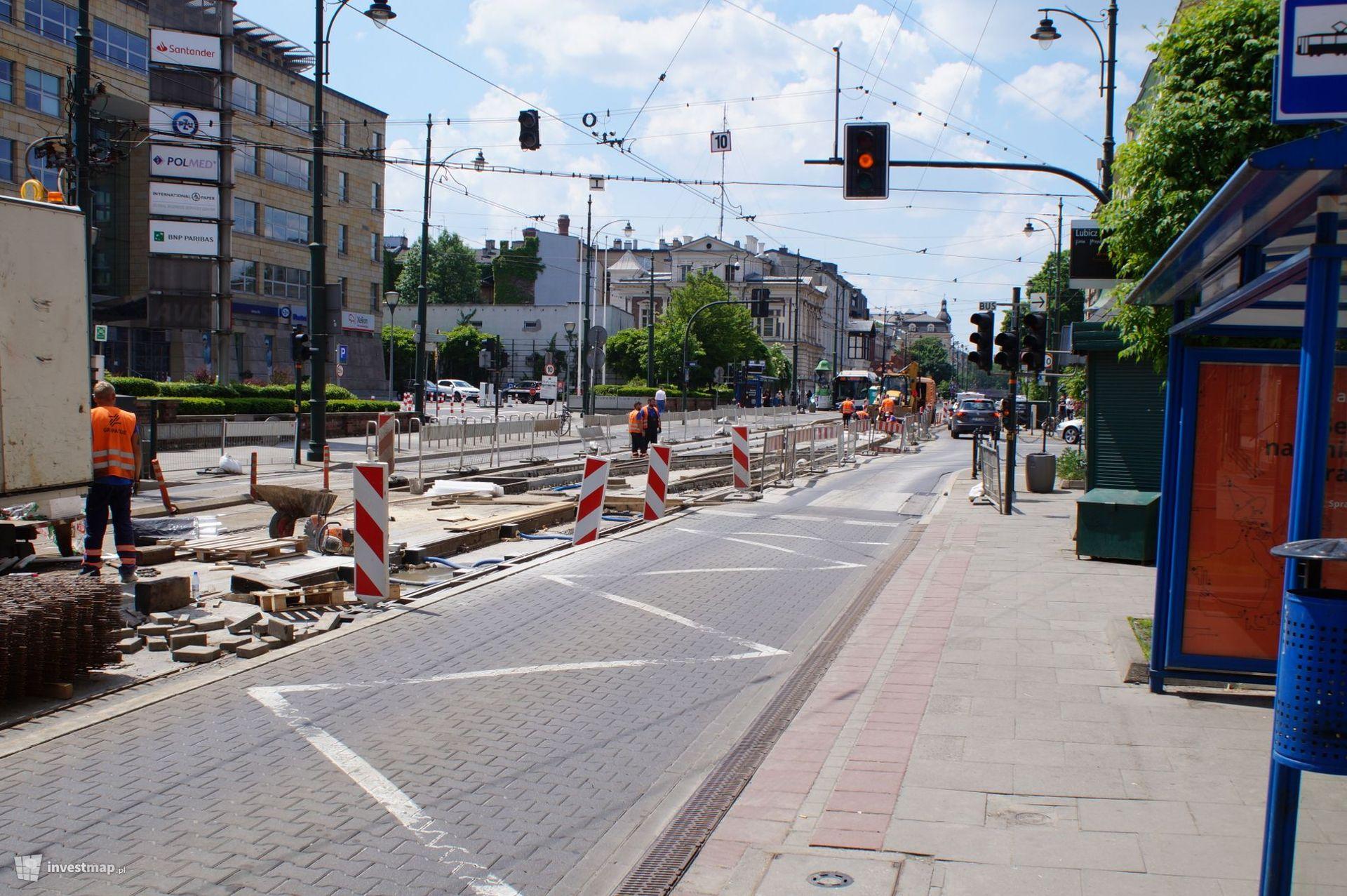 Kraków: Do końca czerwca potrwa remont torowiska na ulicy Lubicz