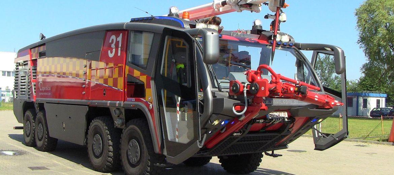 Nowoczesne wozy strażackie pojawiły