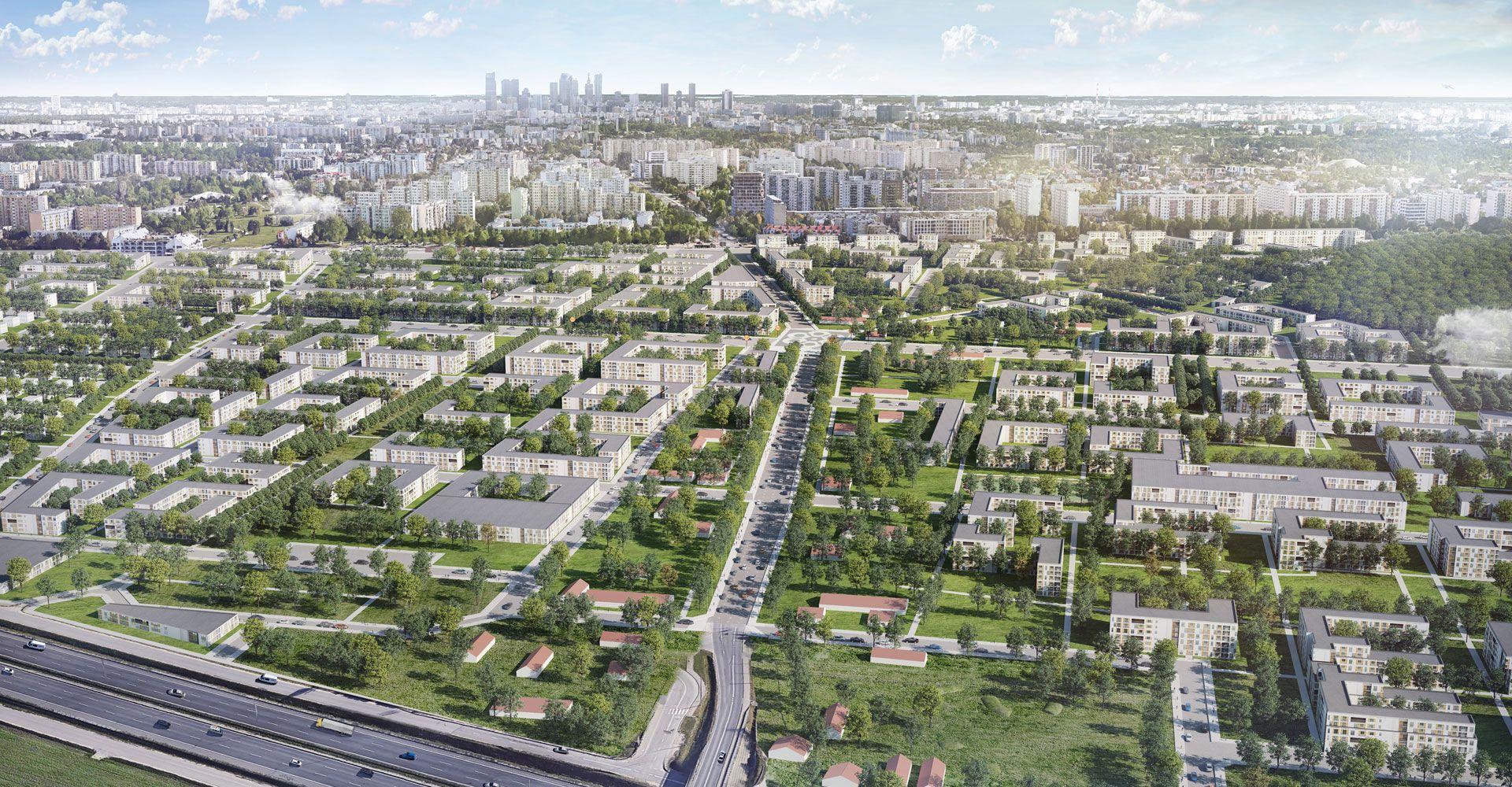 Warszawa: Metro Zachód – Dom Development rusza z wieloetapowym projektem na Chrzanowie