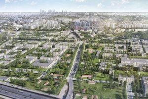 Warszawa: Metro Zachód – Dom Development rusza z wieloetapowym projektem na Chrzanowie [WIZUALIZACJE]