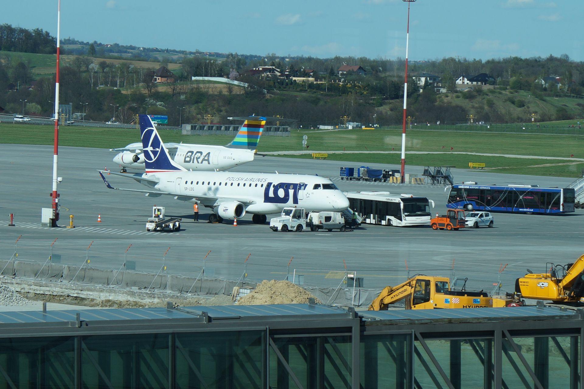 Ogłoszono przetarg na budowę nowego terminala cargo w Kraków Airport
