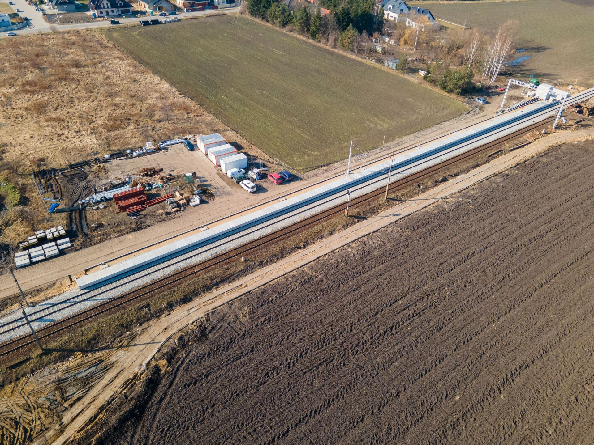 Opóźni się otwarcie przystanku kolejowego w pobliżu wrocławskiego Jagodna