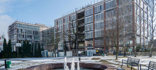 Amerykański GlobalLogic zatrudni docelowo we Wrocławiu tysiąc osób. Trwa budowa biurowca [ZDJĘCIA]