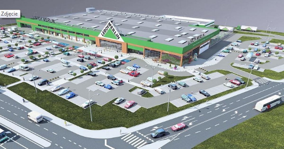 Znamy Date Otwarcia Gigamarketu Leroy Merlin W Podwroclawskim Mirkowie Mirkow Investmap Pl