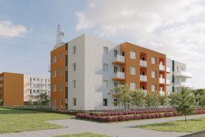 Wrocław: Stokrotka – Budotex rusza z osiedlem na Nowym Dworze [WIZUALIZACJE]