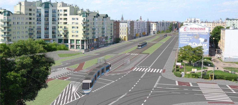 Przebudowa ulicy Pułaskiego: ulica