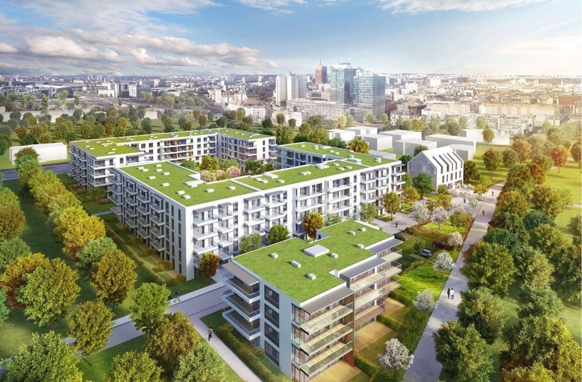 [Poznań] Osiedle Vilda Park w Poznaniu w budowie