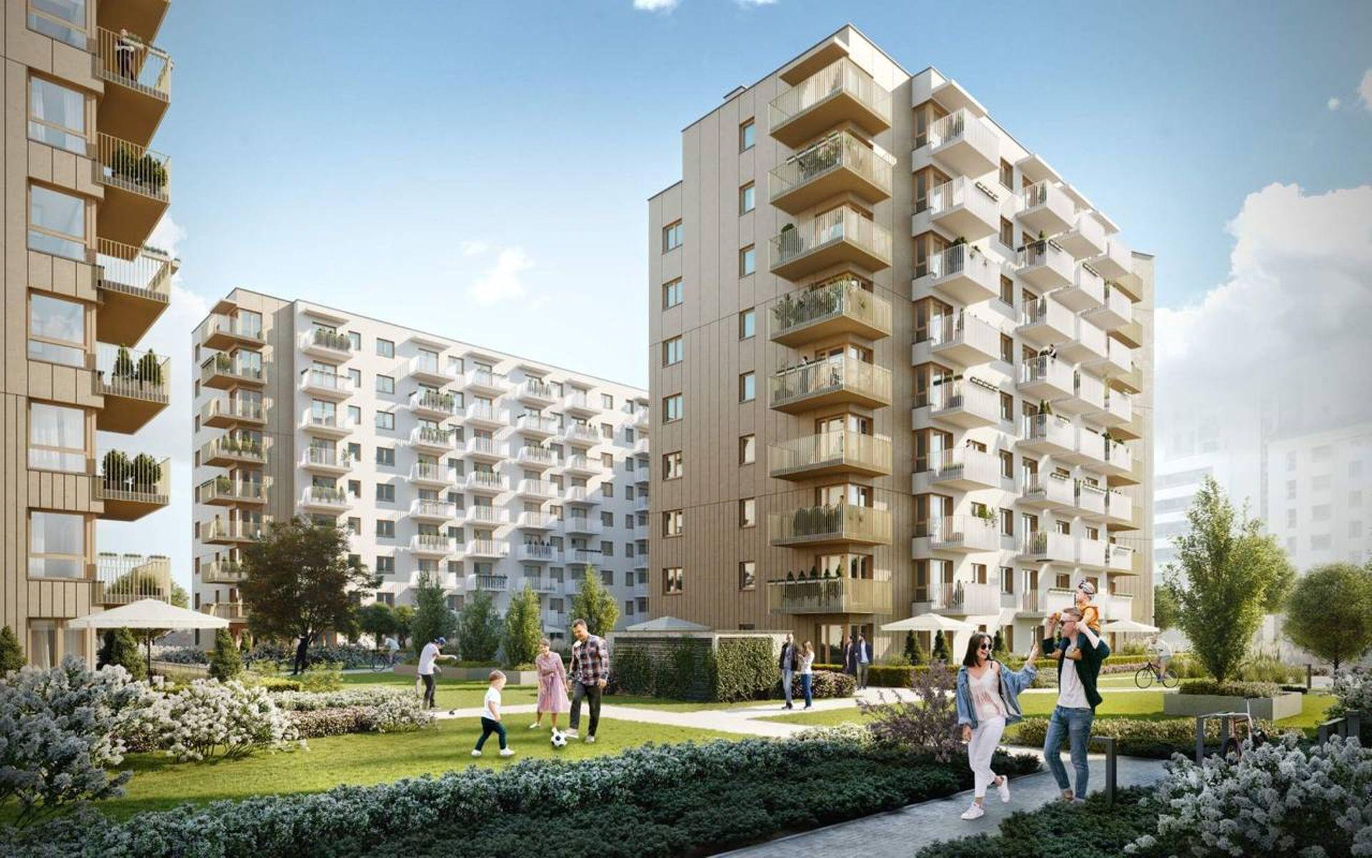 Warszawa: Moko Botanika – Marvipol zbuduje niemal pół tysiąca mieszkań na Służewcu