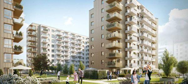 Warszawa: Moko Botanika – Marvipol zbuduje niemal pół tysiąca mieszkań na Służewcu [WIZUALIZACJE]