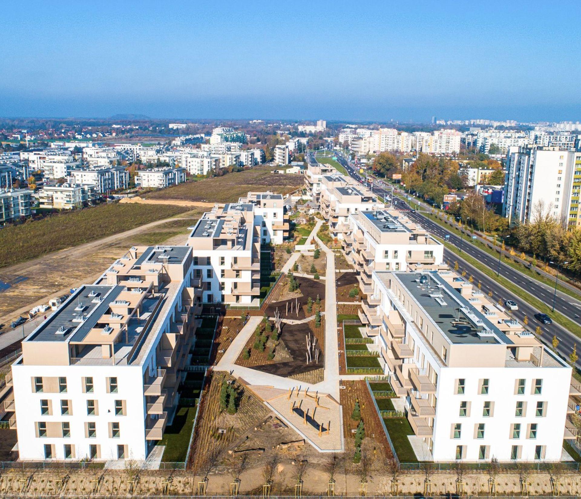 Osiedle Zielone Bemowo w Warszawie gotowe