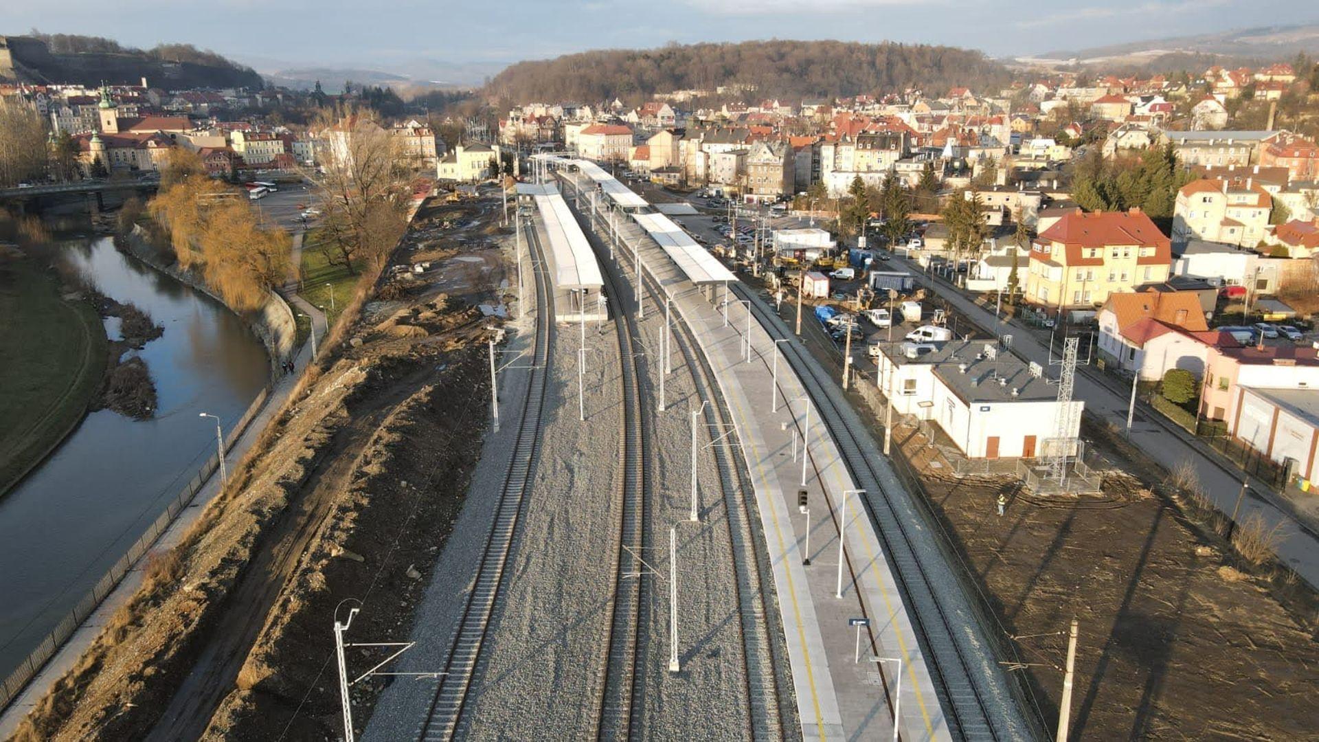 Kolejne miliony złotych na inwestycje w linię kolejową z Kłodzka do Wałbrzycha