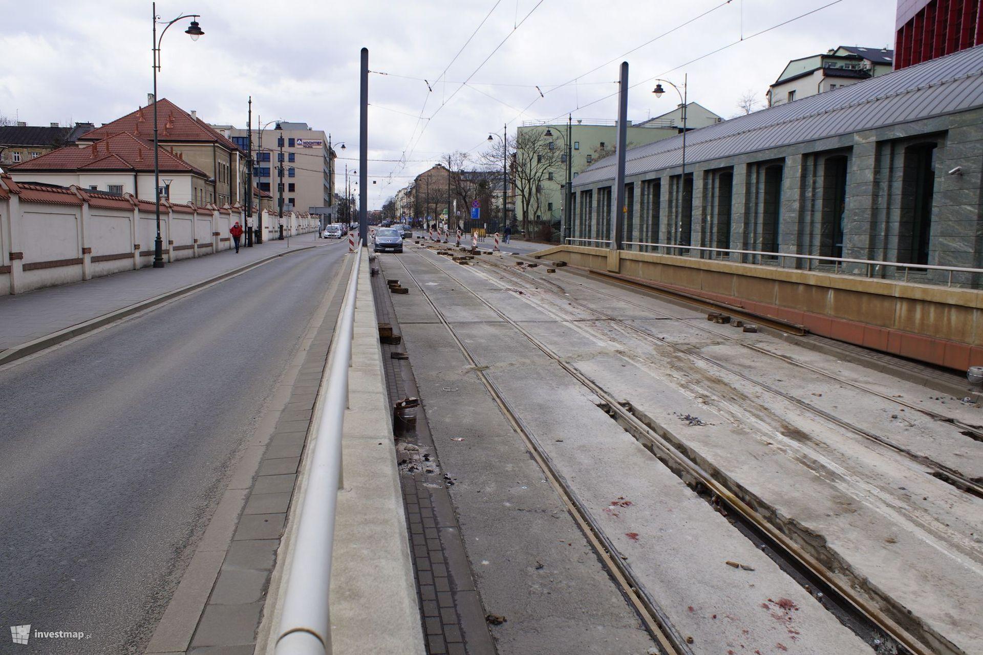 Kraków: Remont torowiska na rondzie Mogilskim