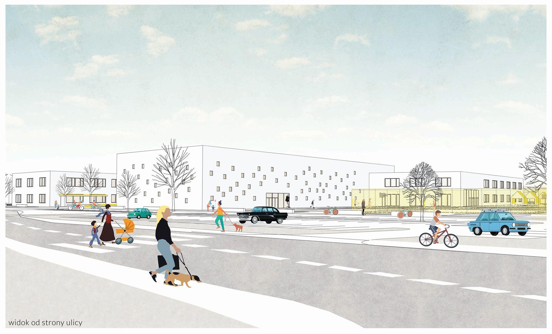 Miasto wybrało wykonawcę budowy zespołu szkolno-przedszkolnego na Wojszycach