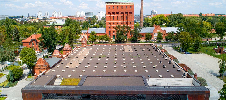 Wrocław: Dach Hydropolis się