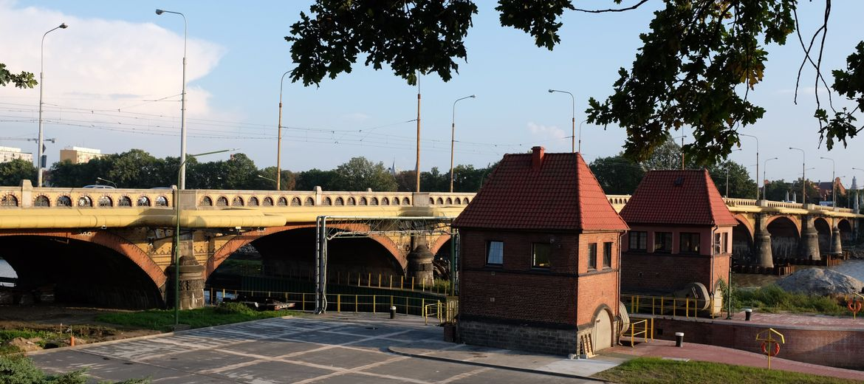 Wrocław: Zabytkowy most Osobowicki