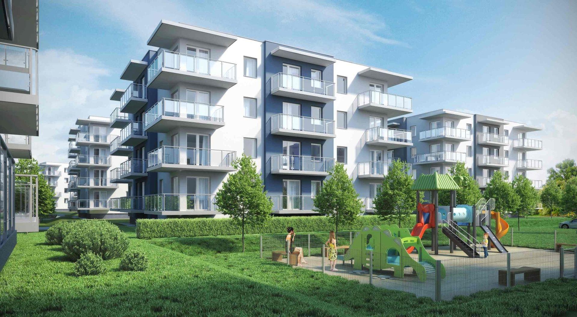[zachodniopomorskie] Budowa apartamentów Porta Mare Baltica w Kołobrzegu postępuje