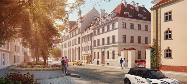 Wrocław: Kamienice Księcia Witolda – Castellum rewitalizuje zabytki na Kępie Mieszczańskiej [WIZUALIZACJE]