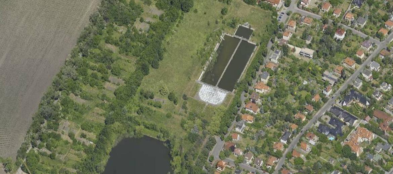 Wrocław: Kąpielisko na terenie
