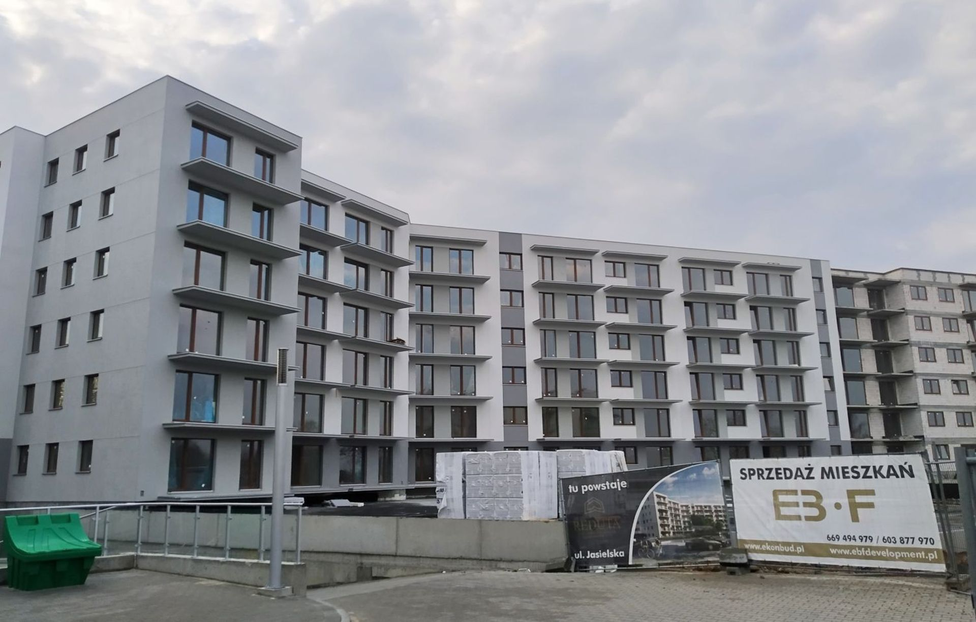 Dziewiąty budynek Reduty Nowe Podolany w Poznaniu prawie wysprzedany