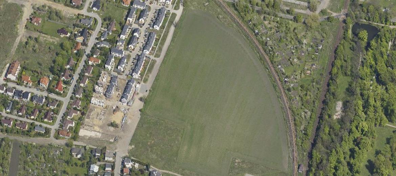 Działka na granicy Brochowa