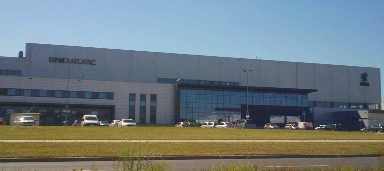 Fabryka UPM Raflatac w Biskupicach Podgórnych