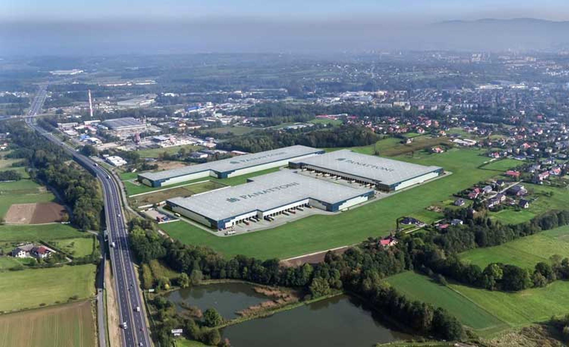 Panattoni buduje w Bielsku-Białej nowy park magazynowy o powierzchni blisko 100 000 mkw.
