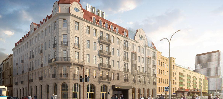 Ruszyła rewitalizacja Hotelu Grand.