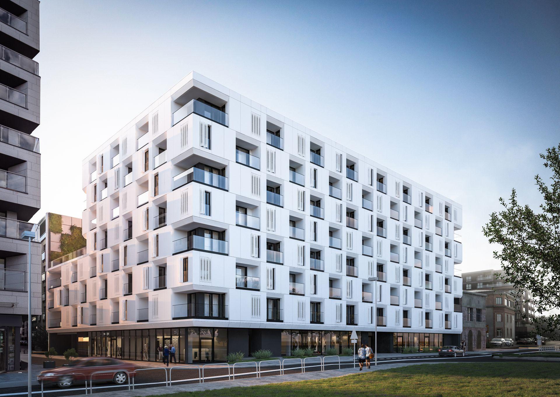 W Krakowie powstaje budynek wielorodzinny Zabłocie Concept House II