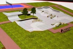 Wkrótce w centrum Wrocławia ruszy budowa nowego skateparku i boiska wielofunkcyjnego [WIZUALIZACJE]