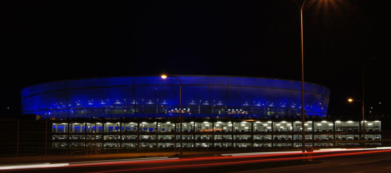10-tysięczny zwiedzający odwiedził stadion,